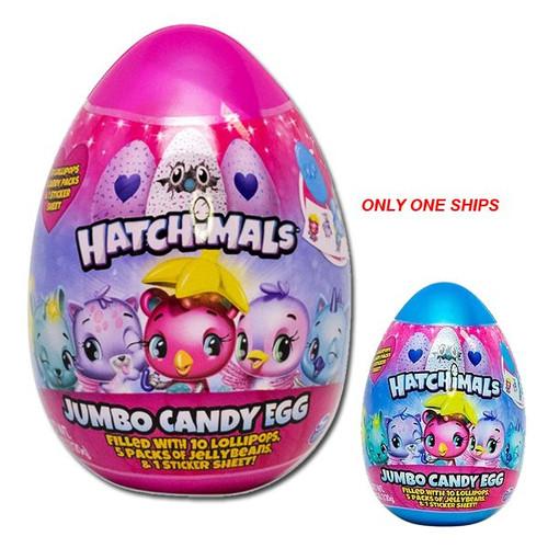 Hatchimals Jumbo Candy Filled Egg