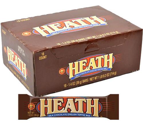 Heath Toffee Candy Bar 18ct