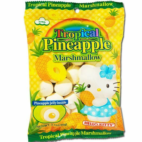 Hello Kitty Pineapple Marshmallows 3.1oz