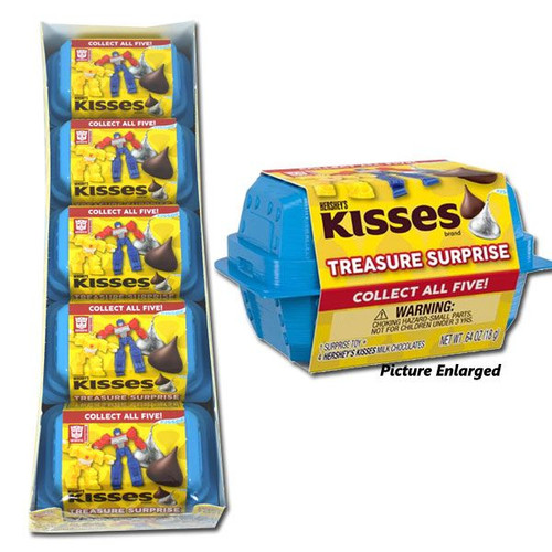 Hershey's Kiss Treasures Transformers 5PK