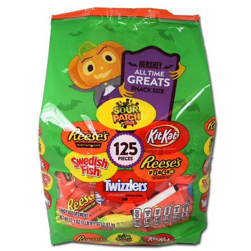 Hershey's All Time Greats Assorted 125 Count