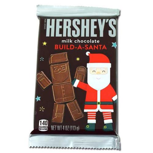Hershey's Build A Santa Choc Bar 4oz
