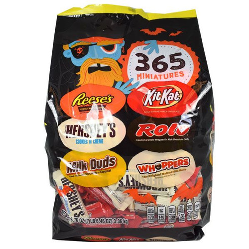 Hershey's Chocolate Bars Assorted Halloween 365 Count