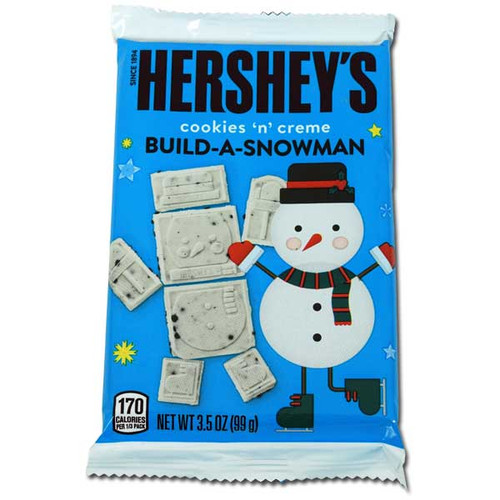 Hershey's Cookie & Cream Build A Snowman 3.5oz