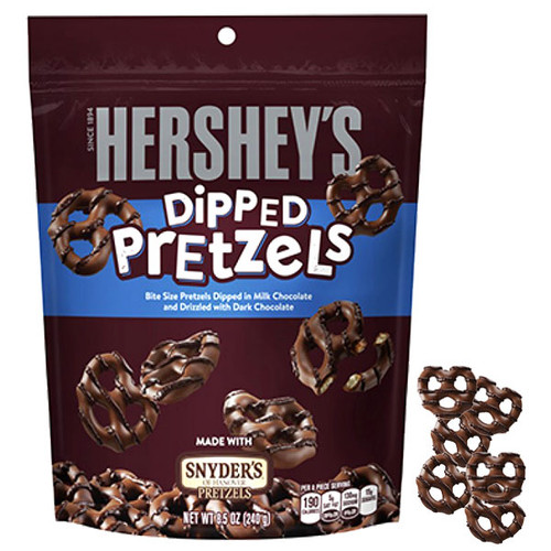 Hershey's Dipped Pretzels 4.25oz