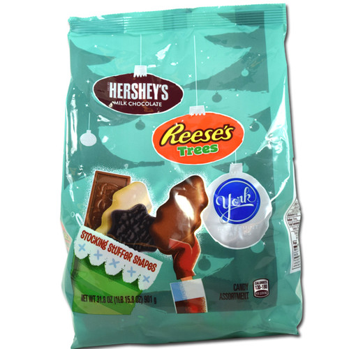 Hershey's Holiday Shapes 31.8oz bag