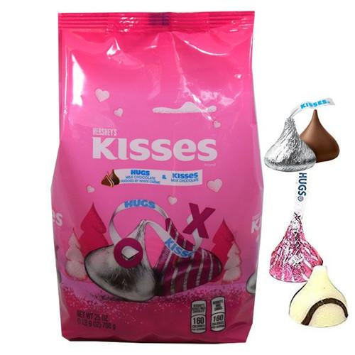 Hershey's Hugs & Kisses Valentine's Day 25oz Bag