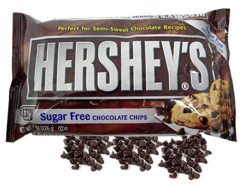 Hershey's Sugar Free Semi Sweet Chocolate Chips 8oz Bag