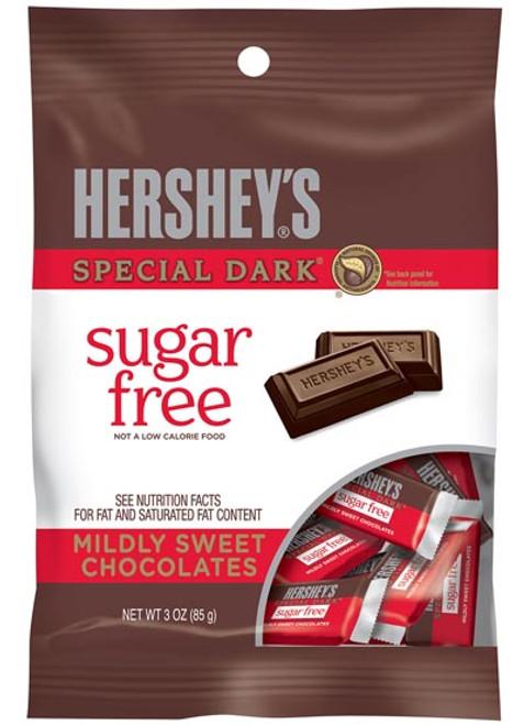 Hershey's Special Dark Bars Sugar Free 3oz Bag