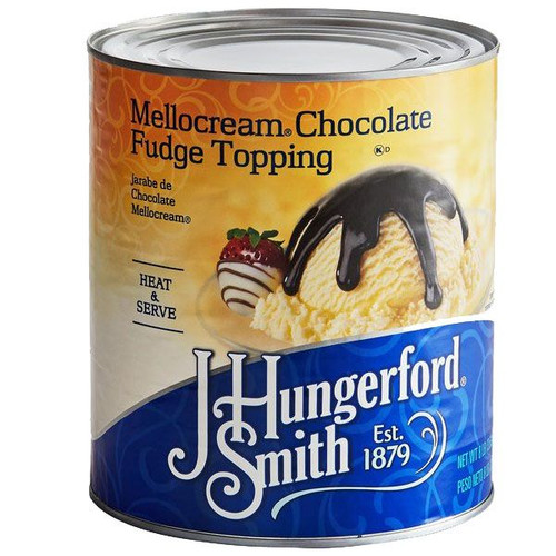 Chocolate Fudge Mellocream Topping 10lb Can