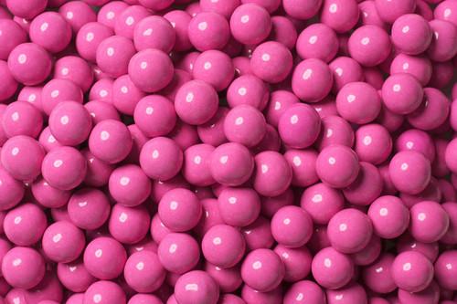Hot Pink Mini Chocolate Candy Balls 2lb Bag Sixlets
