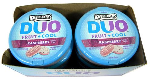 Ice Breaker Mints Duo Raspberry
