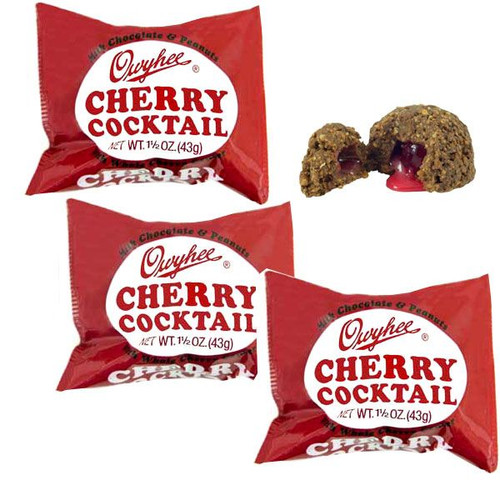 Cherry Cocktail Candy Bars 18ct