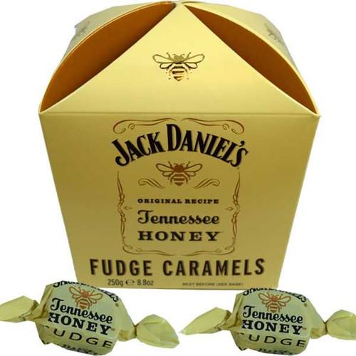 Jack Daniels Honey Fudge Caramels 8.8oz Box