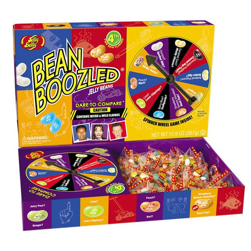 Jelly Belly Jelly Bean Boozle Spinner Game 12.6oz