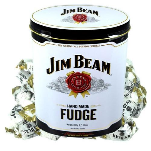 Jim Beam Homemade Fudge 10.7oz Tin