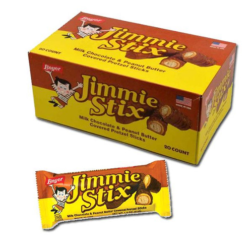 Jimmie Stix Candy Bars 20 Count