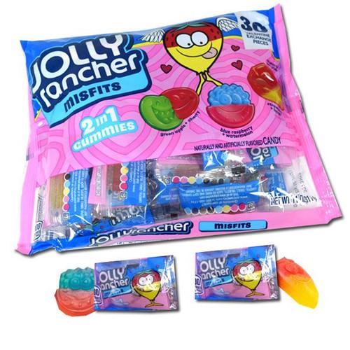Jolly Rancher Misfit Gummies Valentines 30 Count