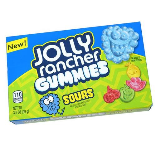 """Jolly Rancher """"SOUR"""" Gummies 3.5oz Box"""