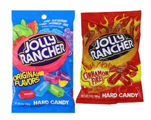 Jolly Rancher  Bags - Original or Cinnamon Fire
