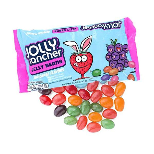 Jolly Rancher Jelly Beans 14oz  Asst Flavors