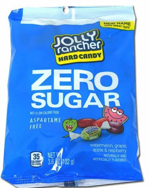 Jolly Rancher Sugar Free Assorted 3.6oz Bag