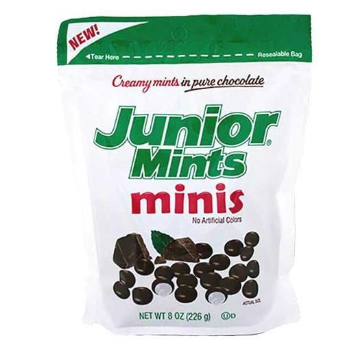 Junior Mint Mini's 8oz Stand Bag