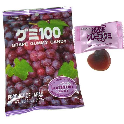 Kasugai Gummy Grape 3.77oz