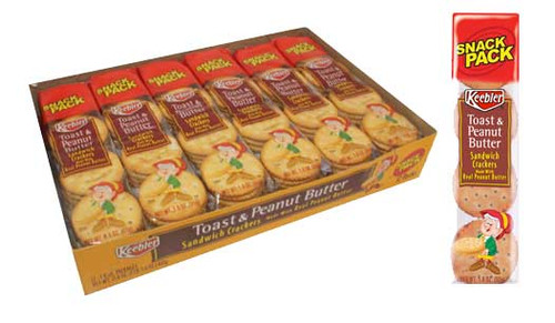 Keebler Toast & Peanut Butter Crackers 12 Pack