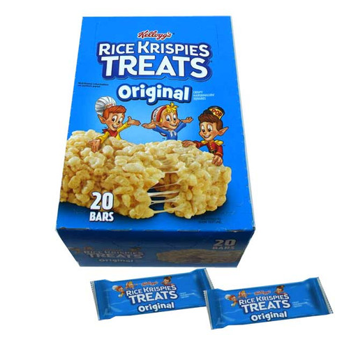 Kelloggs Rice Krispies Treats 20 Count