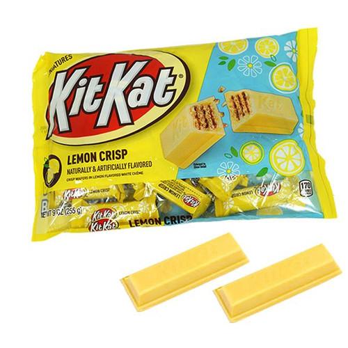 Kit Kat Lemon Crisp Miniatures 9oz Bag