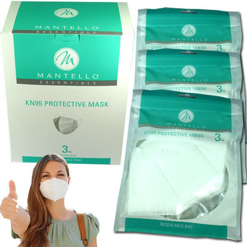 KN95 Disposable Face Masks 24 Count