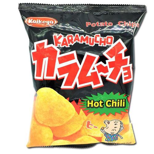 Koikeya Karamucho Chips Hot Chili 1.9oz