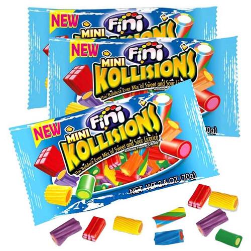 Kollisions Mini Sweet & Sour Packs 12 Count