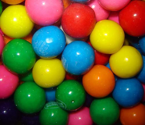 """Large 1"""" Bubble Gum Balls 24oz"""