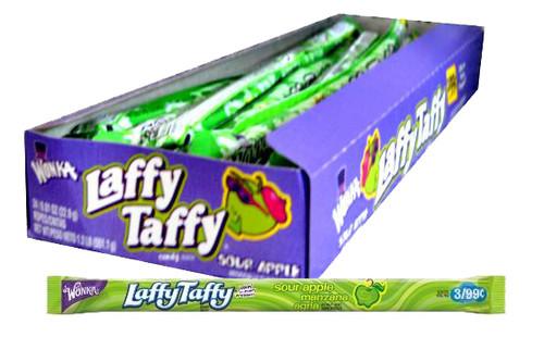 Laffy Taffy Rope 24ct - Apple
