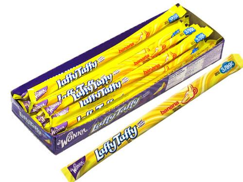 Laffy Taffy Ropes 24ct Banana