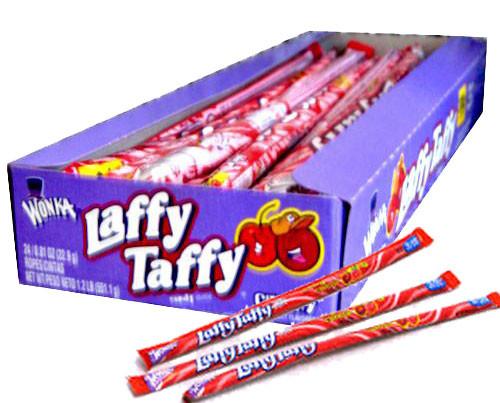 Laffy Taffy Rope 24ct - Cherry