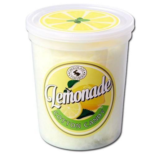 Lemonade Flavor Cotton Candy