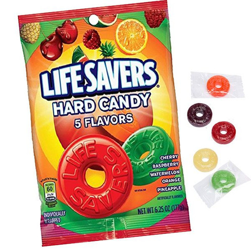 Life Savors 5 Flavors 6.25oz  Bag