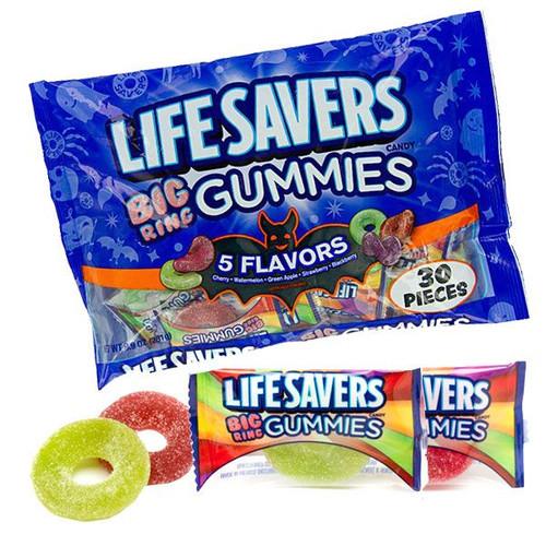 Lifesavers Big Ring Gummies 30 Count Bag