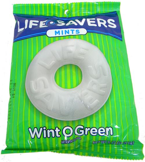Life Savers Singles 6.25oz Bag Wint-O-Green