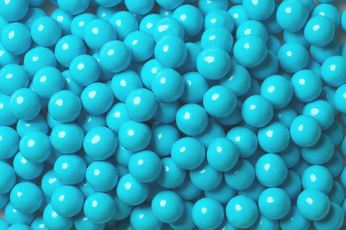 Light Blue Mini Chocolate Balls 2lb Sixlets