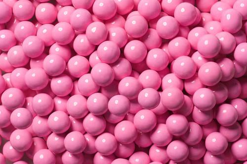 Lite Pink Mini Chocolate Balls 2 lb Sixlets
