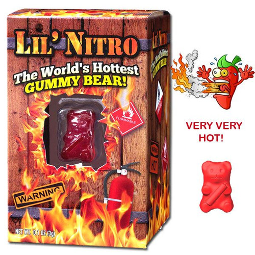 LiL' Nitro Gummy Bear (Very Hot!)