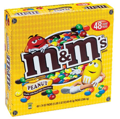 M&M's Candy 48ct - Peanut