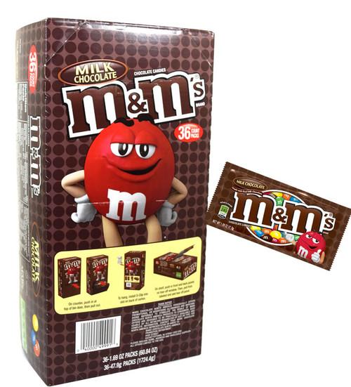 M&M's Candy 36 Count Plain