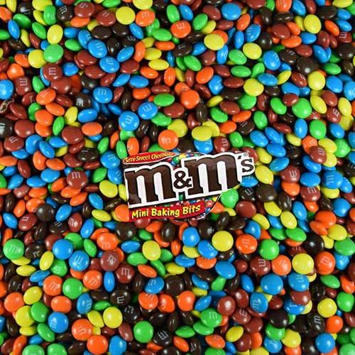 M&M Mini Baking Bits 5lb Bag