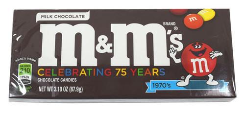 M&M's Plain 3.1oz Theater Size Box