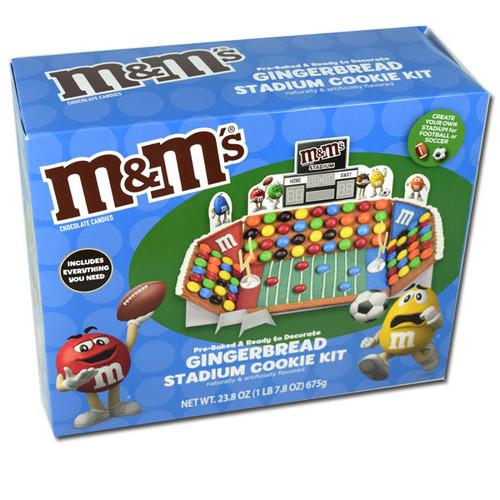 M&M's Stadium Gingerbread Kit